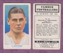 Bolton Wanderers William Westwood England 32